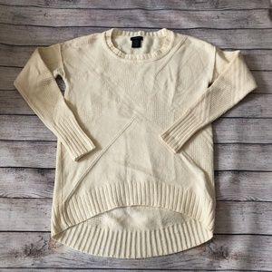Calvin Klein Jeans Cream  Knit Sweater